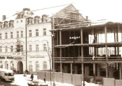 Výstavba budovy